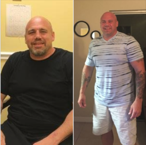 Jerry, drug and alcohol rehab before and after photo, Foundations Wellness Center