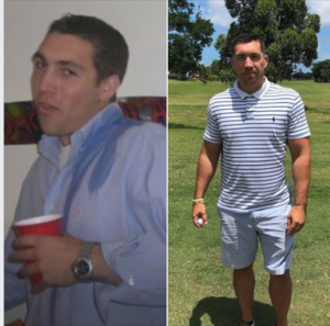 Tim, Drug and Alcohol Rehab Before and After Pic, Foundations Wellness Center