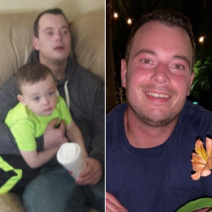 Mike, before and after addiction rehab, Foundations Wellness Center