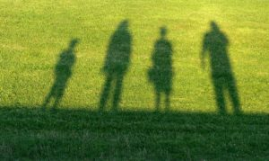 Shadow of a Family in the Grass, Help for Family Members of Drug Addicts, Foundations Wellness Center