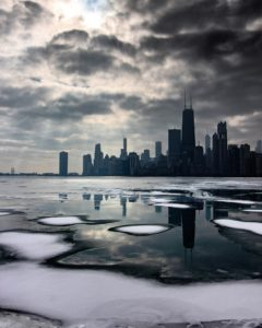 Chicago winter skyline, former alcoholic and drug addict shares his story, Foundations Wellness Center