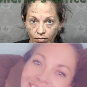 Nikki, before and after, rehab success story, Foundations Wellness Center